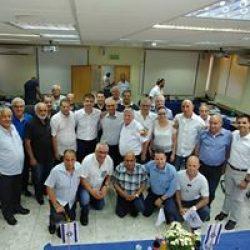 ישיבת מועצת איגוד המוסכים בהשתתפות שר הכלכלה אלי כהן
