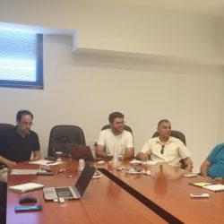 דיון פורה עם נציגי משרד החינוך בסניף חיפה לשילוב תלמידים בתעשייה