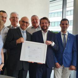 איגוד המוסכים בישראל מוסמך ומוכר האיחוד האירופי במכטרוניקה
